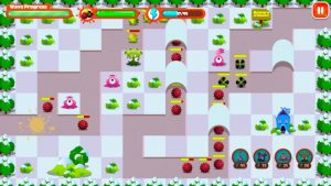 Monster Tower Defense winter pink