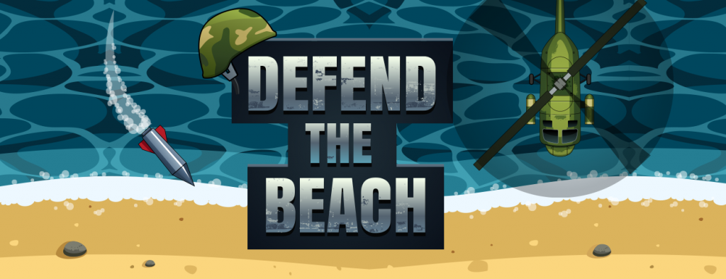 Defend the beach title