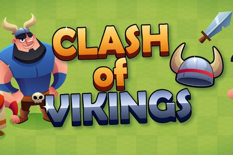 Clash of Vikings HTML5 game