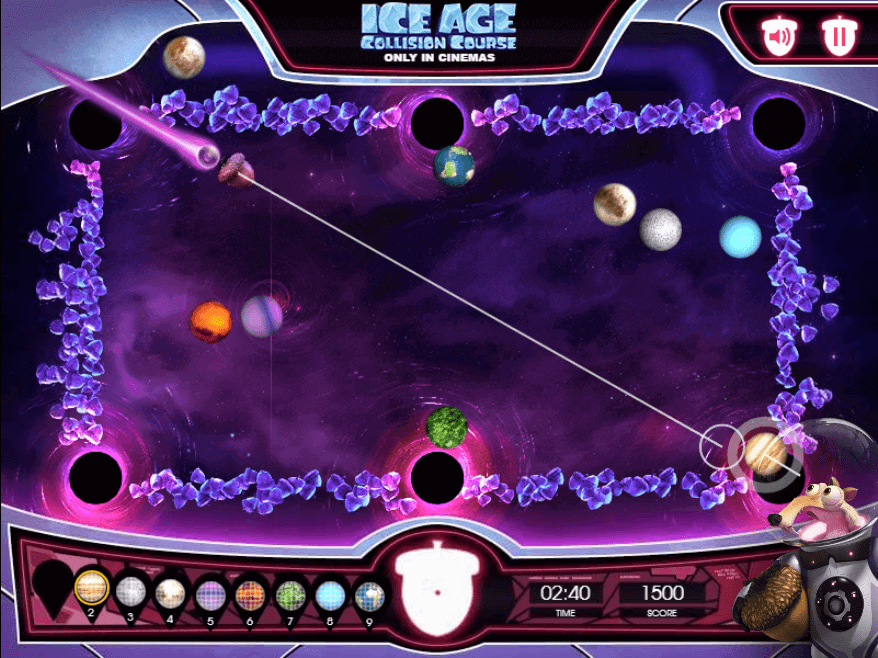 Ice Age 20th Century Fox Bespoke HTML5 game