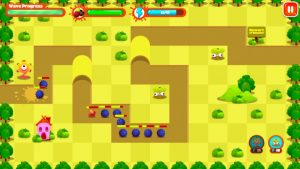 Monster Tower Defense green