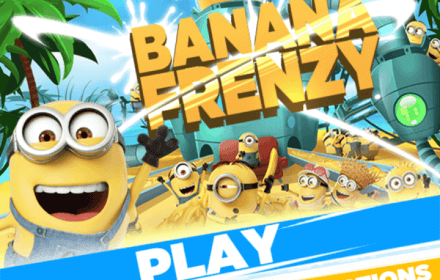 Despicable Me 3 HTML5 game for movie promotion