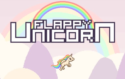 Flappy Unicorn HTML5 Game