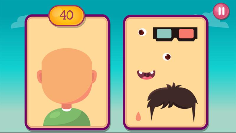Funny Faces - Screenshot