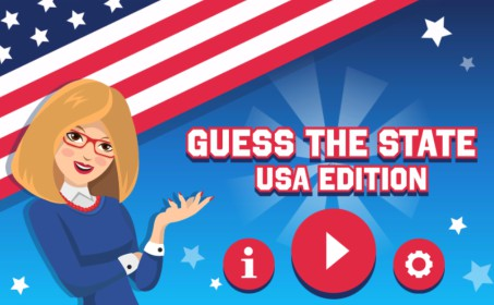 Guess The USA State Game