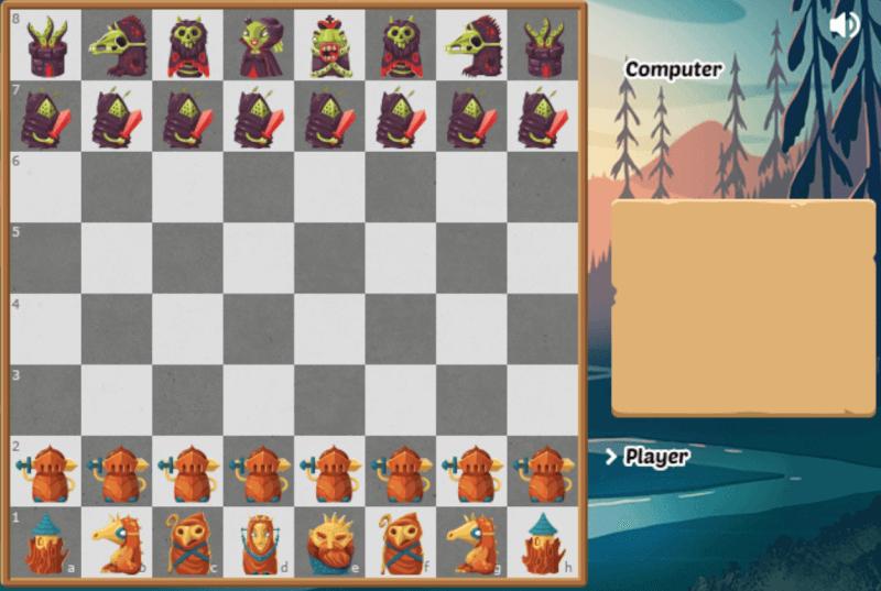 Halloween Chess Game