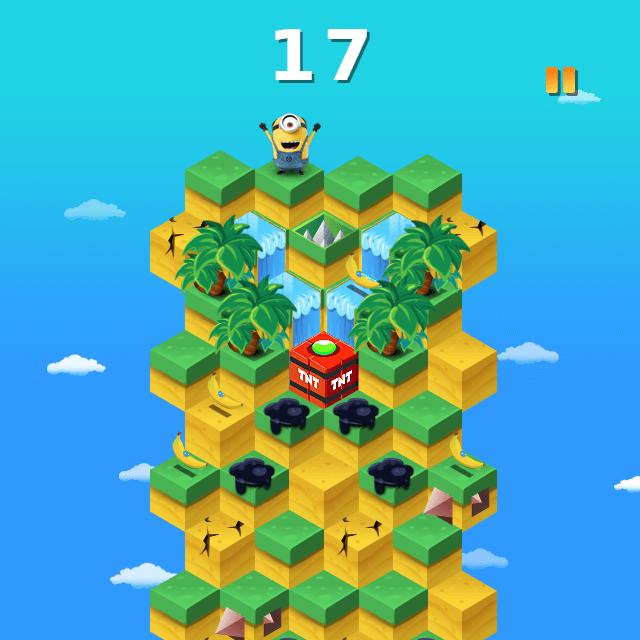 Minions Banana Hop Gameplay