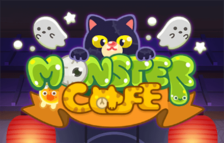 Monster Cafe HTML5 featured