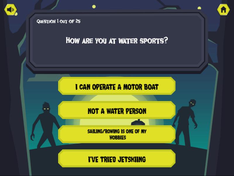 Zombie Apocalypse Quiz - screenshot