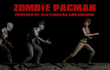 Zombie Pacman HTML5 game title