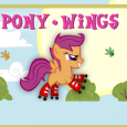 Sunsets are always beautiful, but that does not mean you wait for them, or even lose to them in a race. Pony Wings is a...
