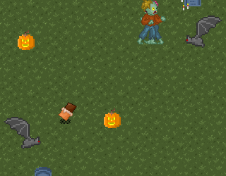 It&#8217;s Halloween night! Collect as many candies as you can without being caught by zombies or bats! The game is also available for mobile devices....