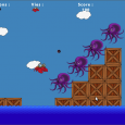 Crabe Game is a short adventure in which you are controlling a crab across the level, and shoot at octopuses. Controls: Move : arrow keys...