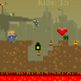 Defend the Earth against the invasion of robots in this super-hardcore action and platform game! Controls: arrows keys to move and to shoot Developed by:...