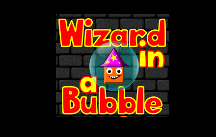 Wizard in a Bubble Logo